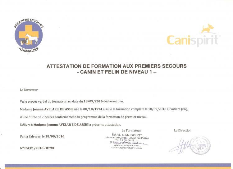 Certificado de PSCF1
