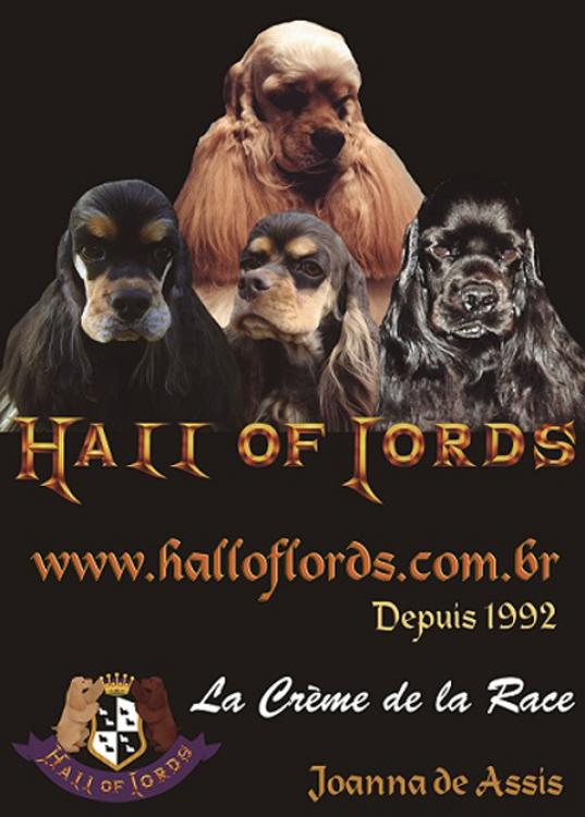 Hall of Lords Cockers Americanos do Brasil Francia desde 1992